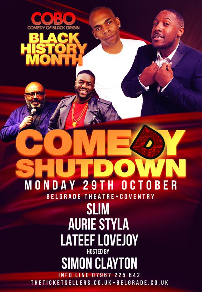 Comedy Shut Down Black History Month Special