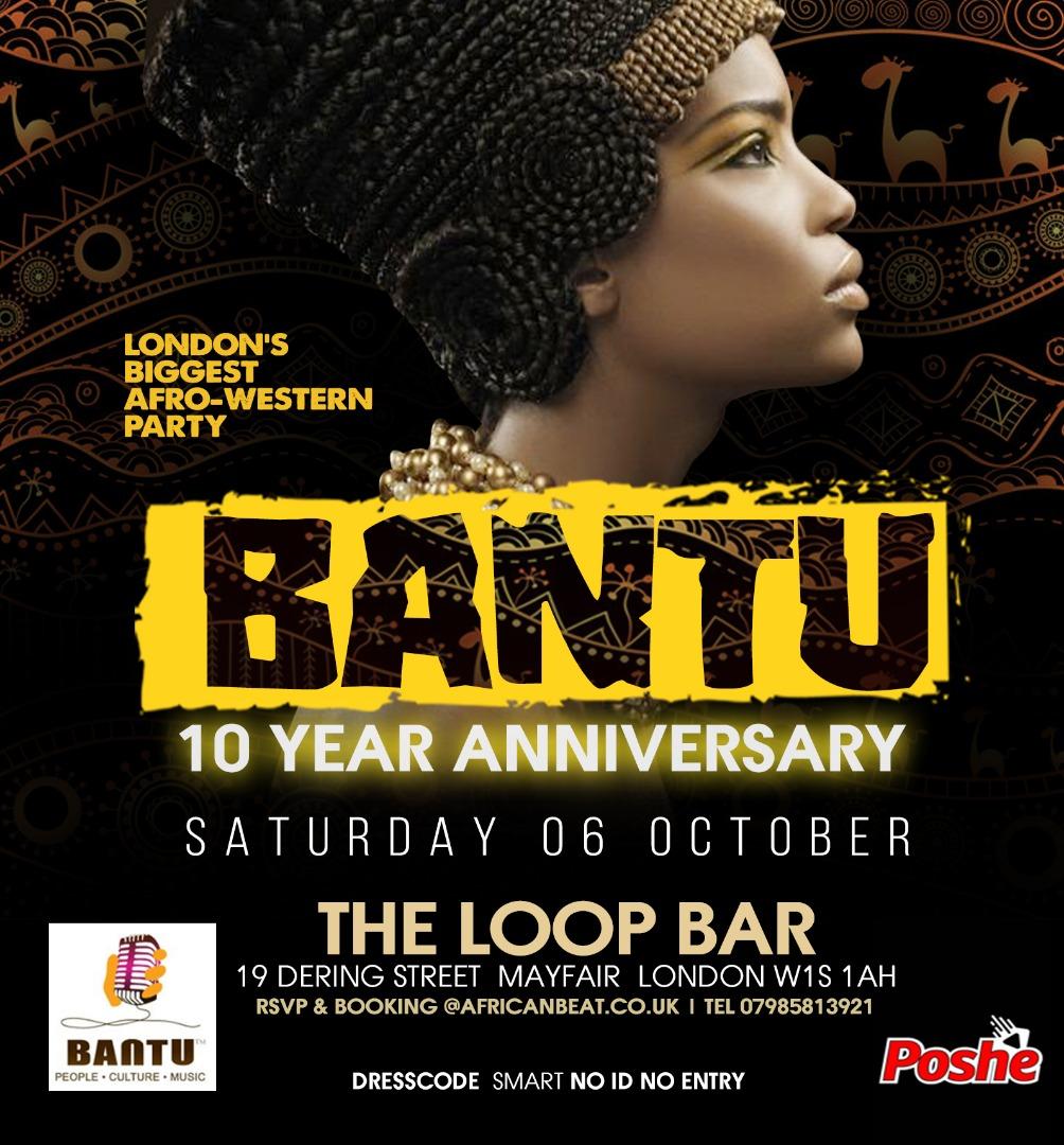 BANTU - The Big One - 10 Year Anniversary