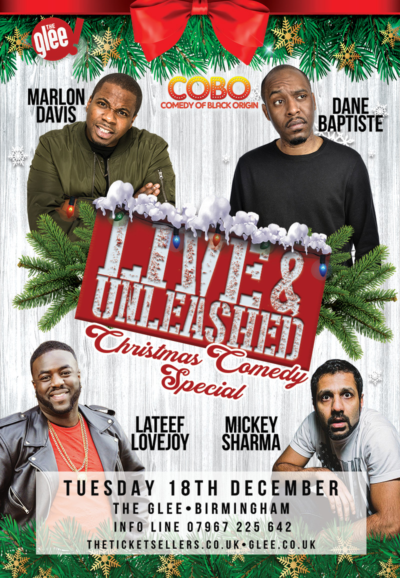 LIVE & UNLEASHED : CHRISTMAS COMEDY SPECIAL
