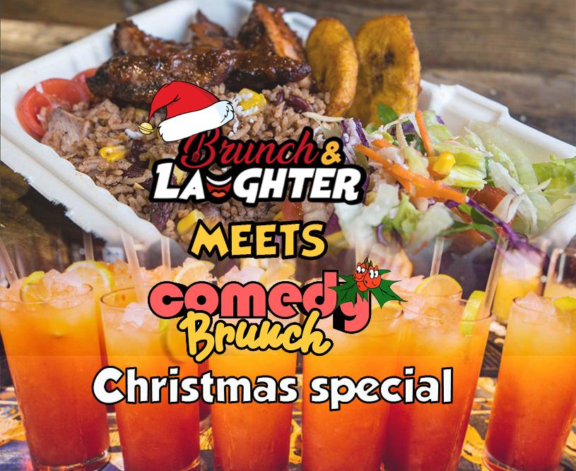 Brunch & Laughter meets Comedy Brunch Xmas