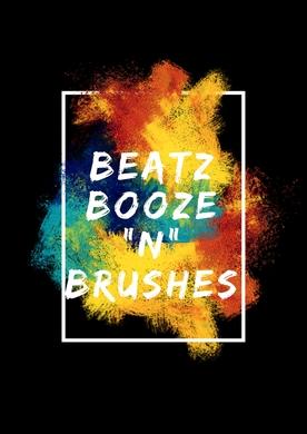 "Beatz, Booze ""N"" Brushes (Paint x Games)"