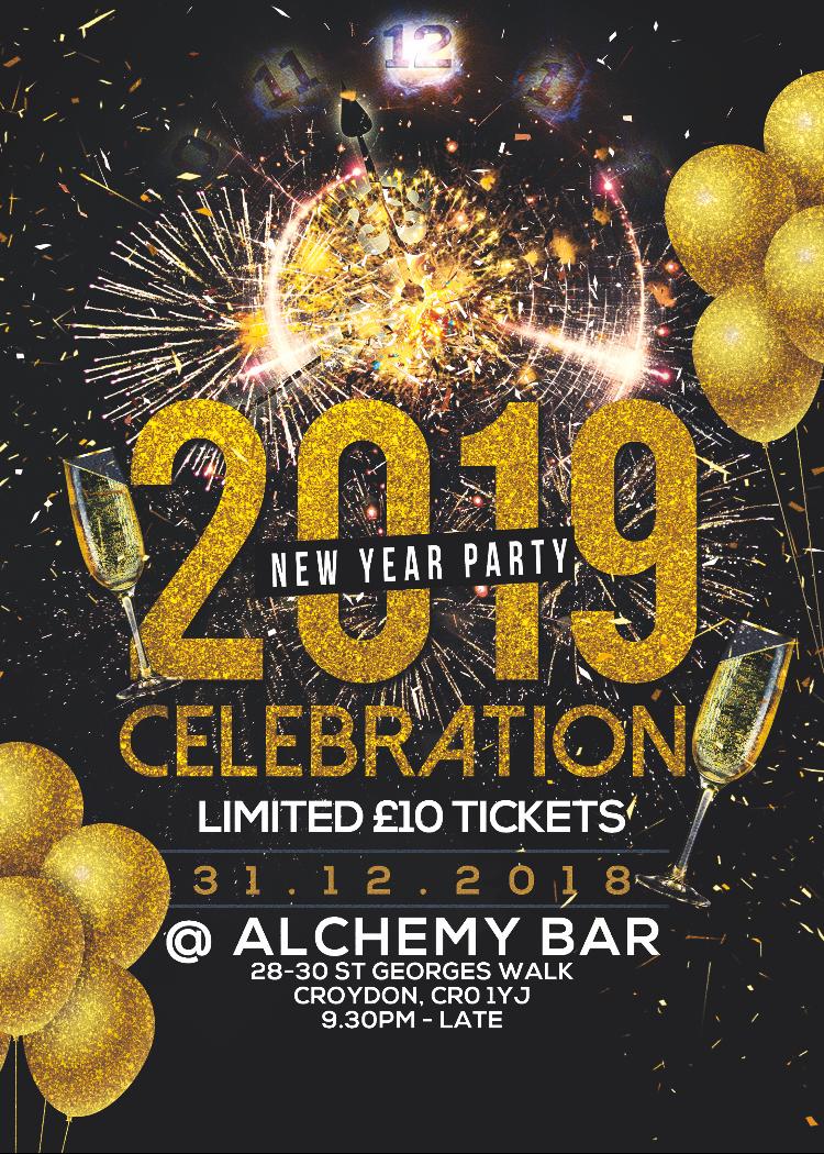 2019 NEW YEAR PARTY CELEBRATION