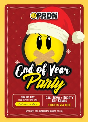 PRDN PARTY! SEF KOMBO + SEMO + SHORTY