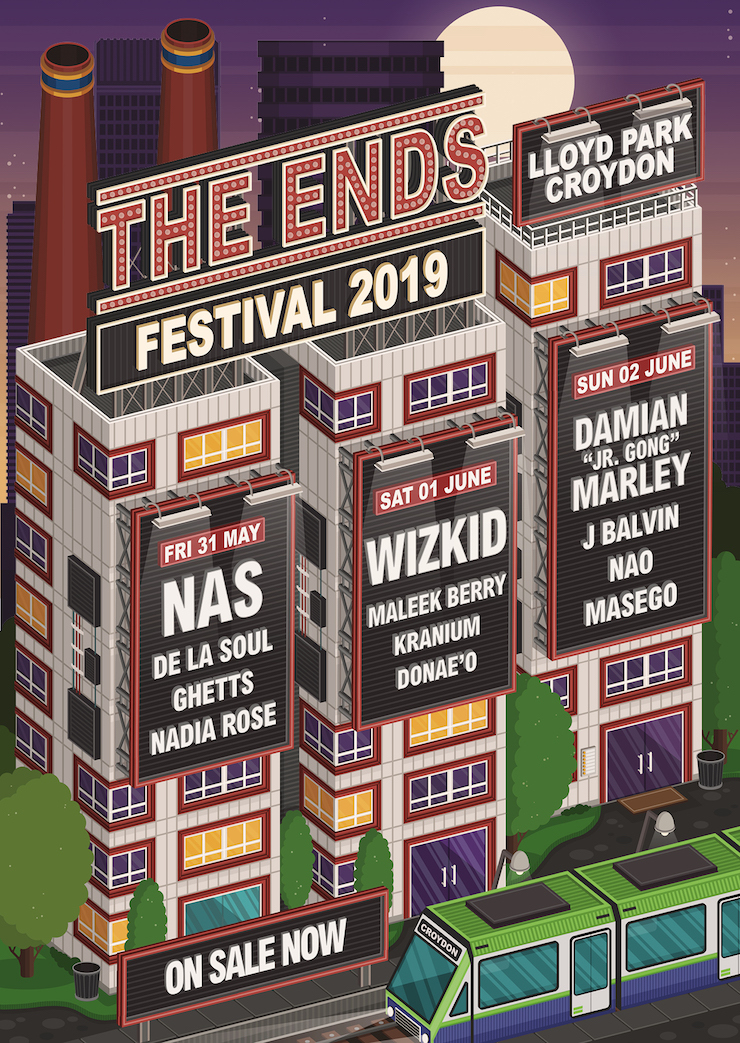 The Ends Festival 2019 with Nas