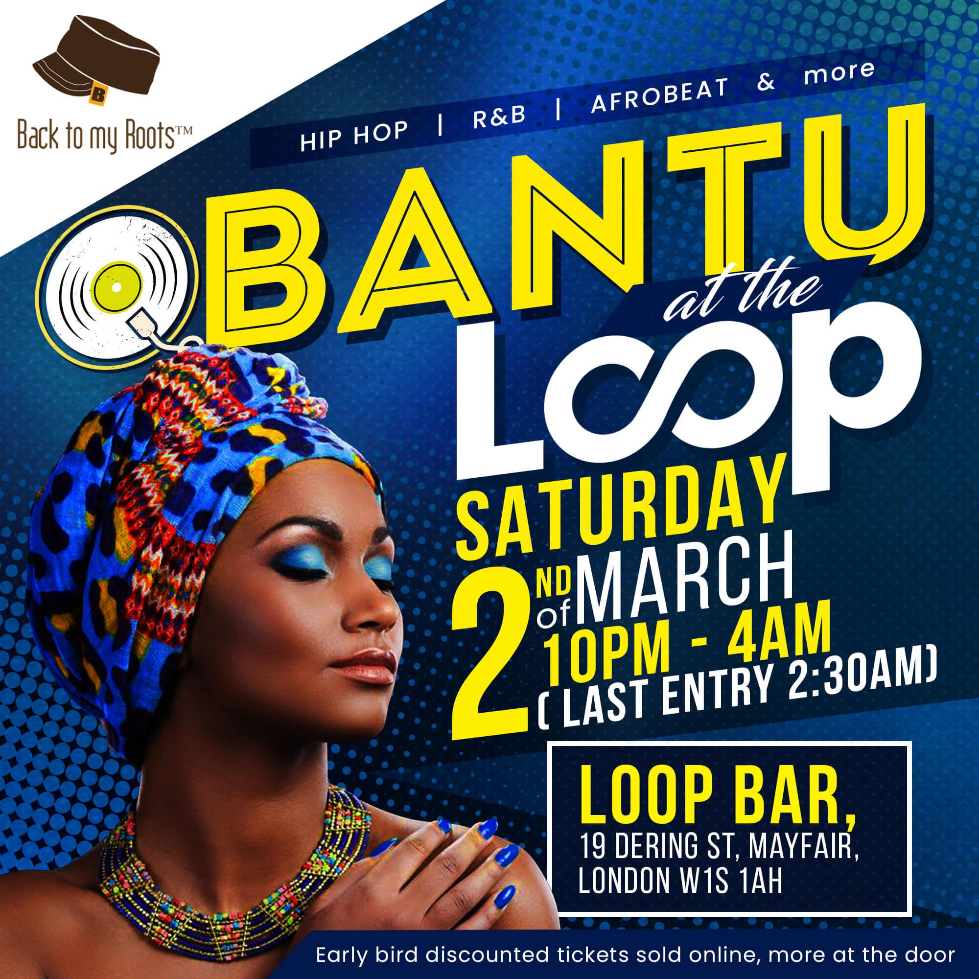 BANTU March at the Loop