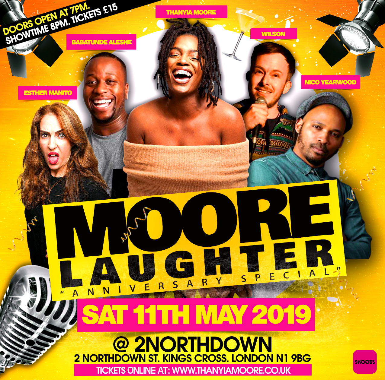 Moore Laughter - Anniversary Edition
