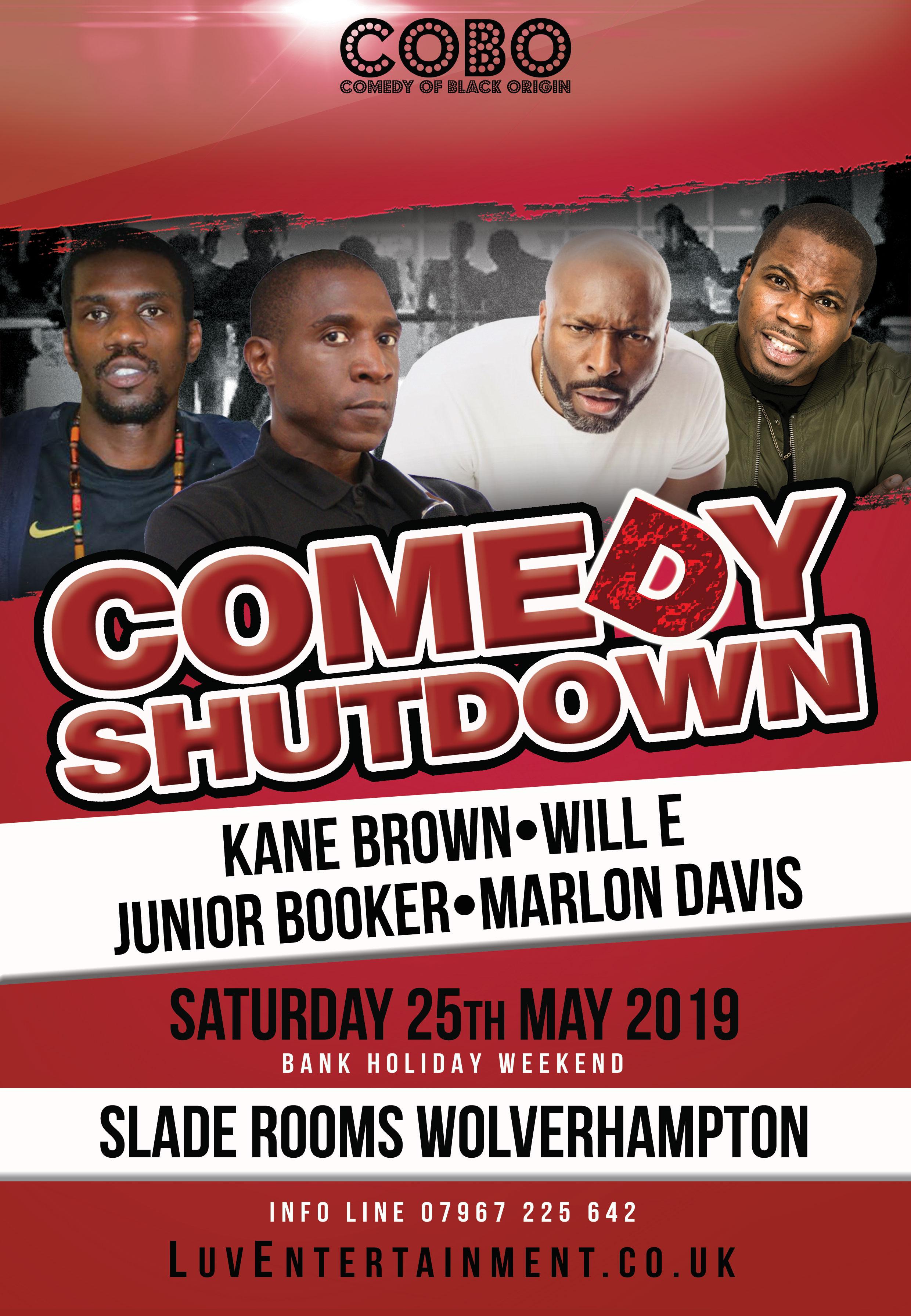 Comedy Shutdown Tour - Wolverhampton