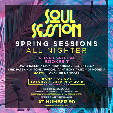 Soul Sessions Present Spring Session
