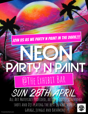 Party N Paint- The Neon Party