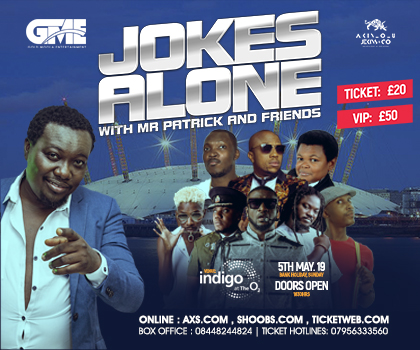 Jokes Alone w/ Mr Patrick, Peter Psq,E Omondi