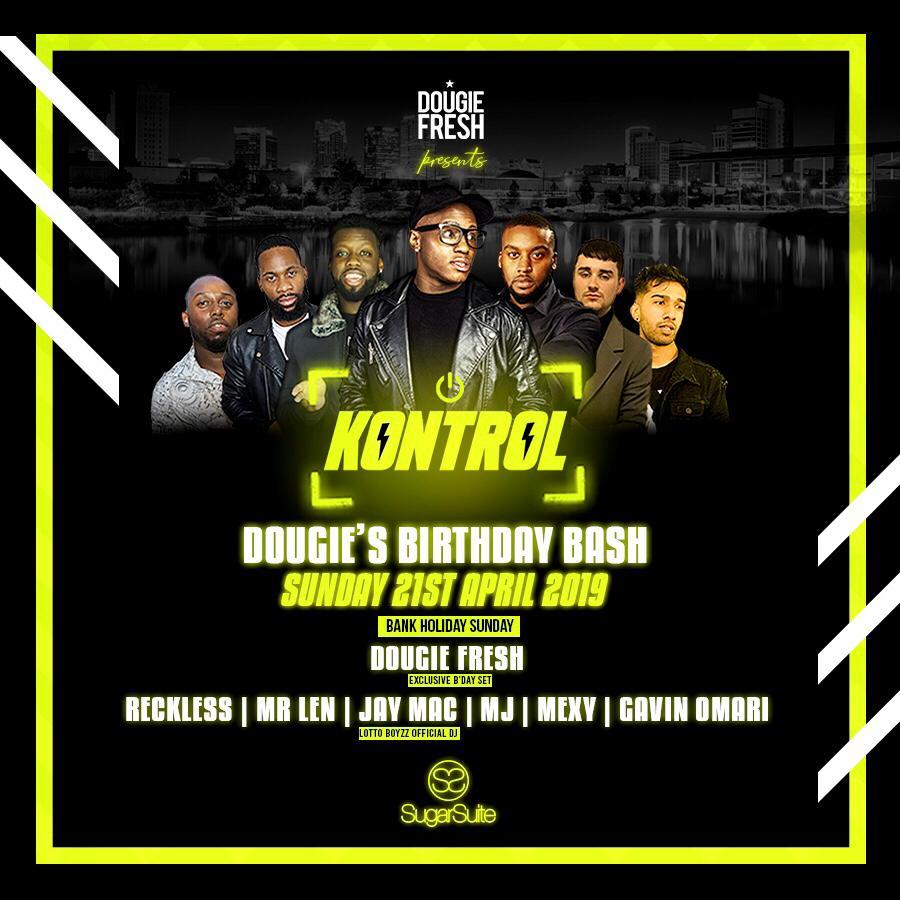 Kontrol Dougie Fresh's Birthday Party
