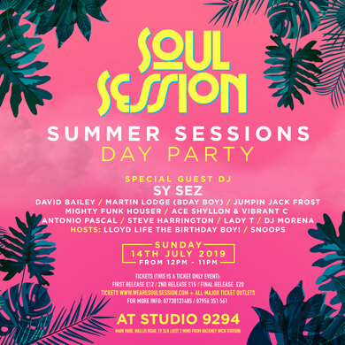 Soul Session Presents Summer Session The Day