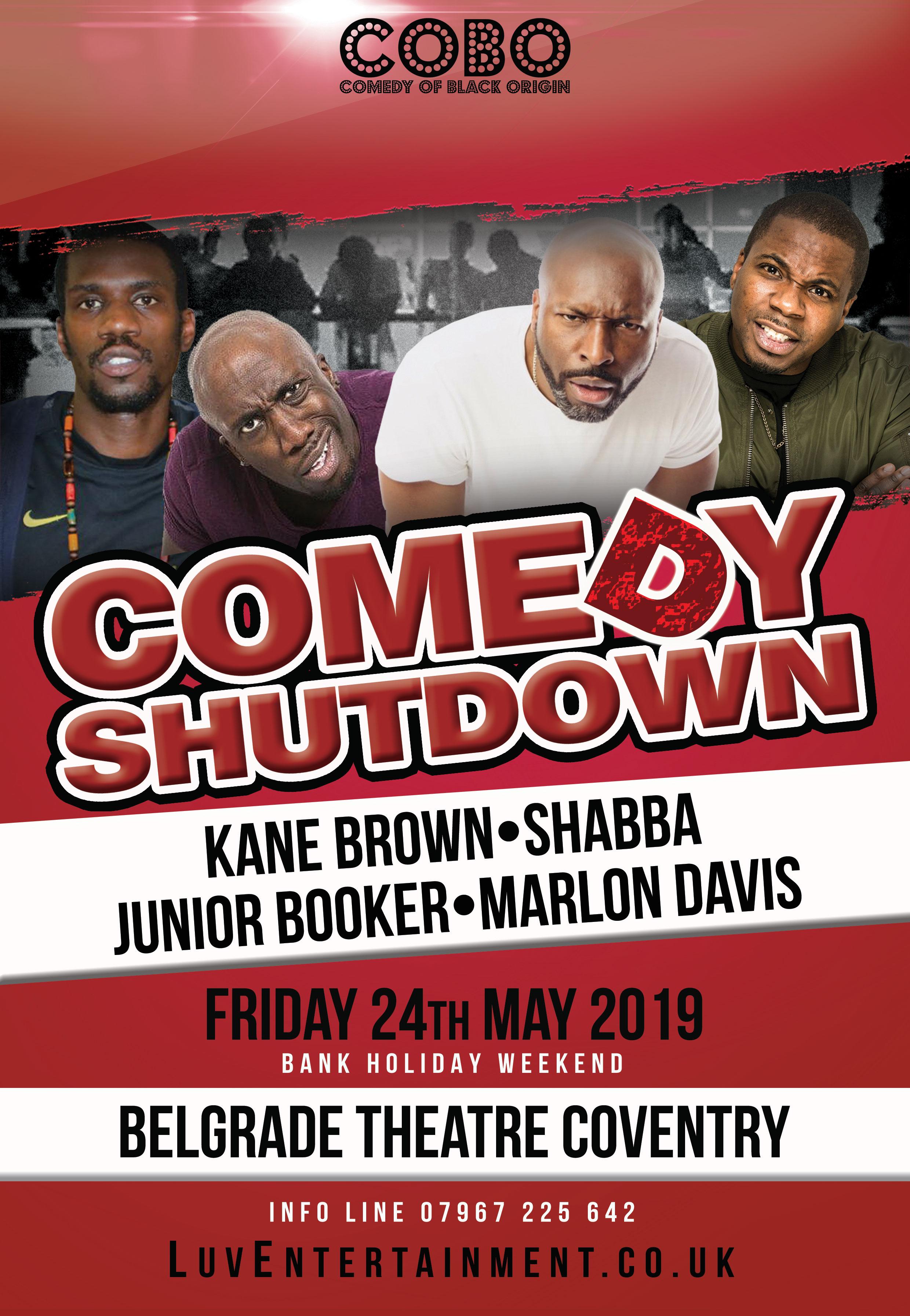 Comedy Shutdown - Coventry