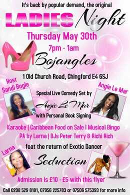 Ladies Night at Bojangles