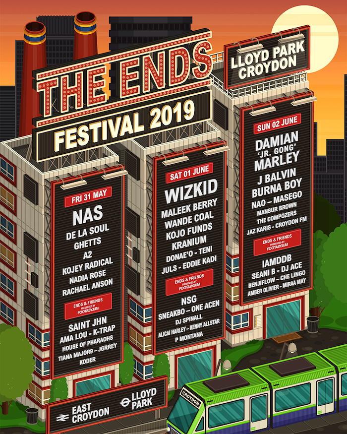 The Ends Festival 2019 with Wizkid