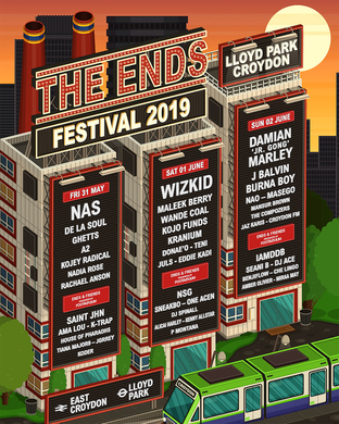 The Ends Festival 2019 with Damian Marley