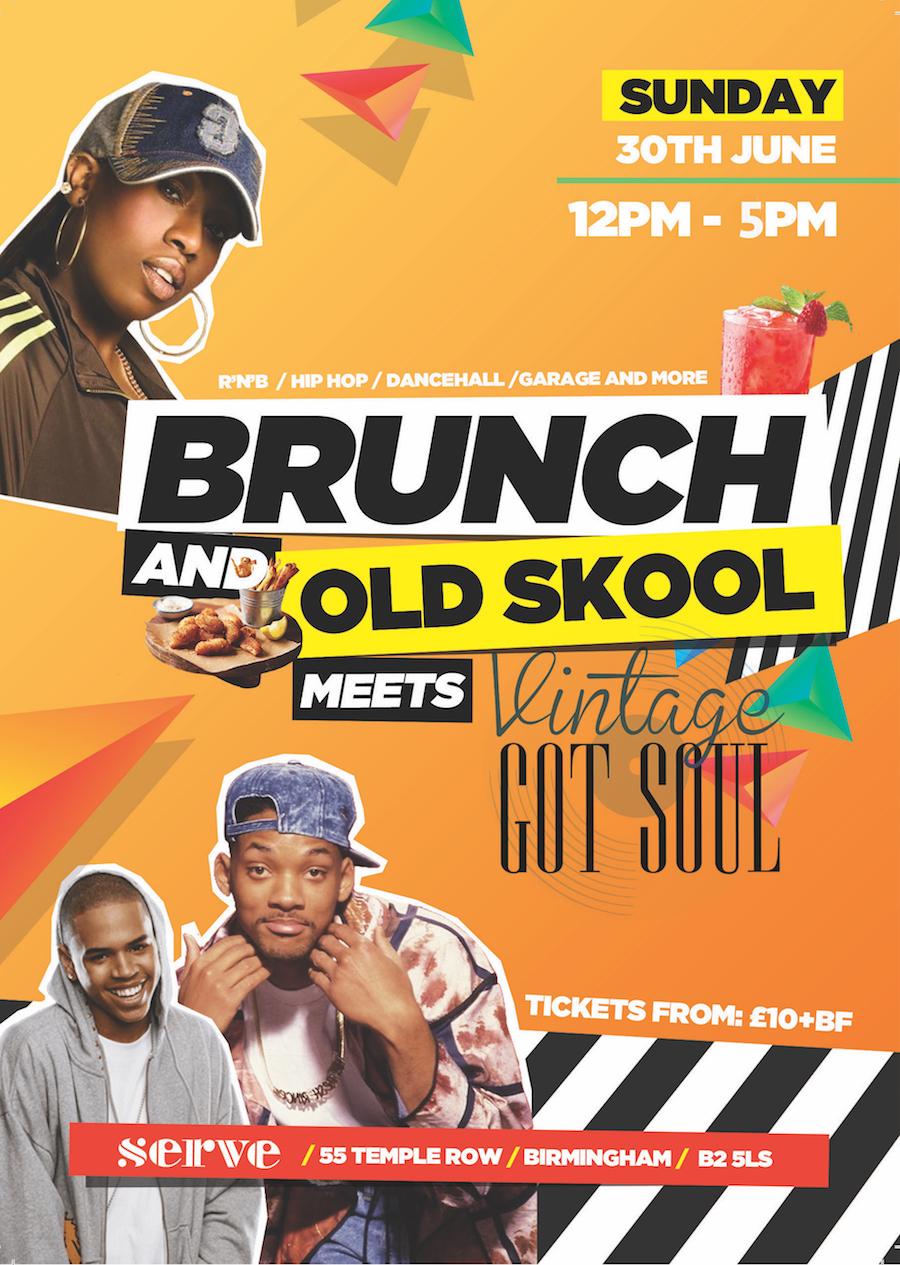Brunch and Old Skool - June