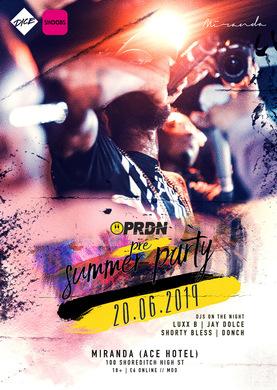 PRDN's Pre Summer Party