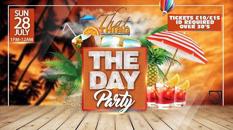 ThatThing The Day Party At The Ravensbury