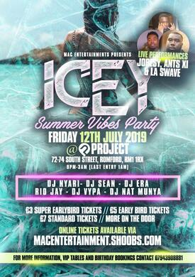 ICEY - SUMMER VIBES PARTY