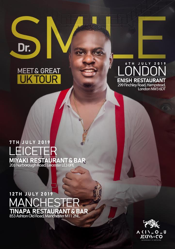 Dr.SMILE Meet & Greet Tour - Leicester