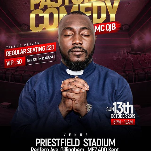 My experience with {Pastor Of Comedy} MCOJB