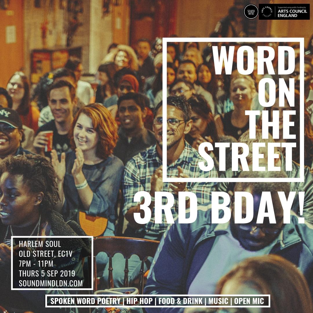 Word on the Street 3rd Birthday