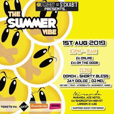 PRDN x Sick-a-bit presents The Summer Vibe