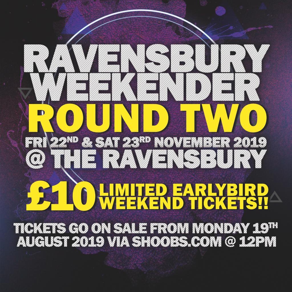 THE RAVENSBURY WEEKENDER ROUND 2