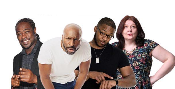 Comedy Shutdown COV - Black History Month