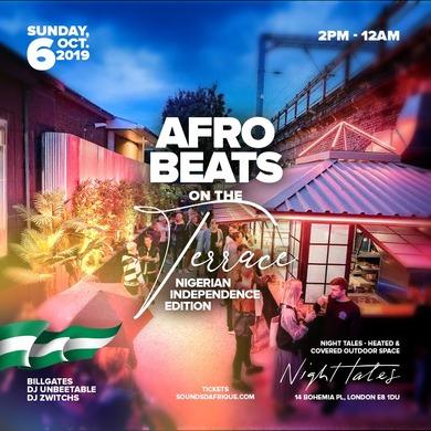 Afrobeats on the Terrace #NigeriaIndependence