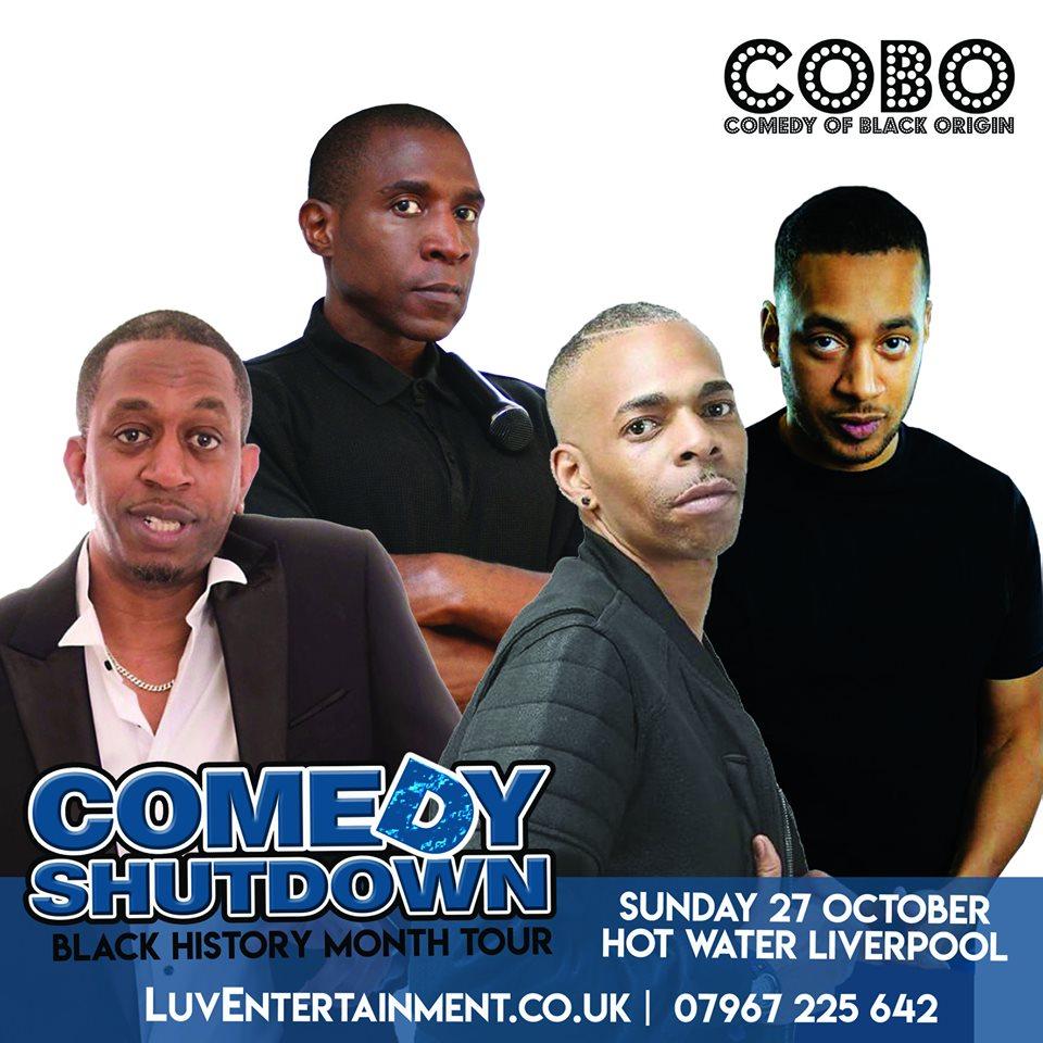 Comedy Shutdown Liv - Black History Month