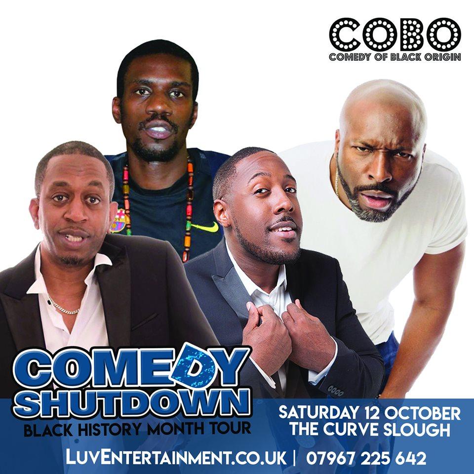 Comedy Shutdown Slough Black History Month