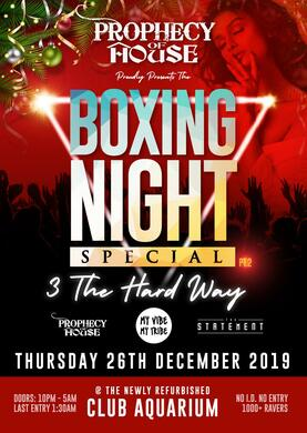 3 THE HARD WAY - ***BOXING DAY SPECIAL***