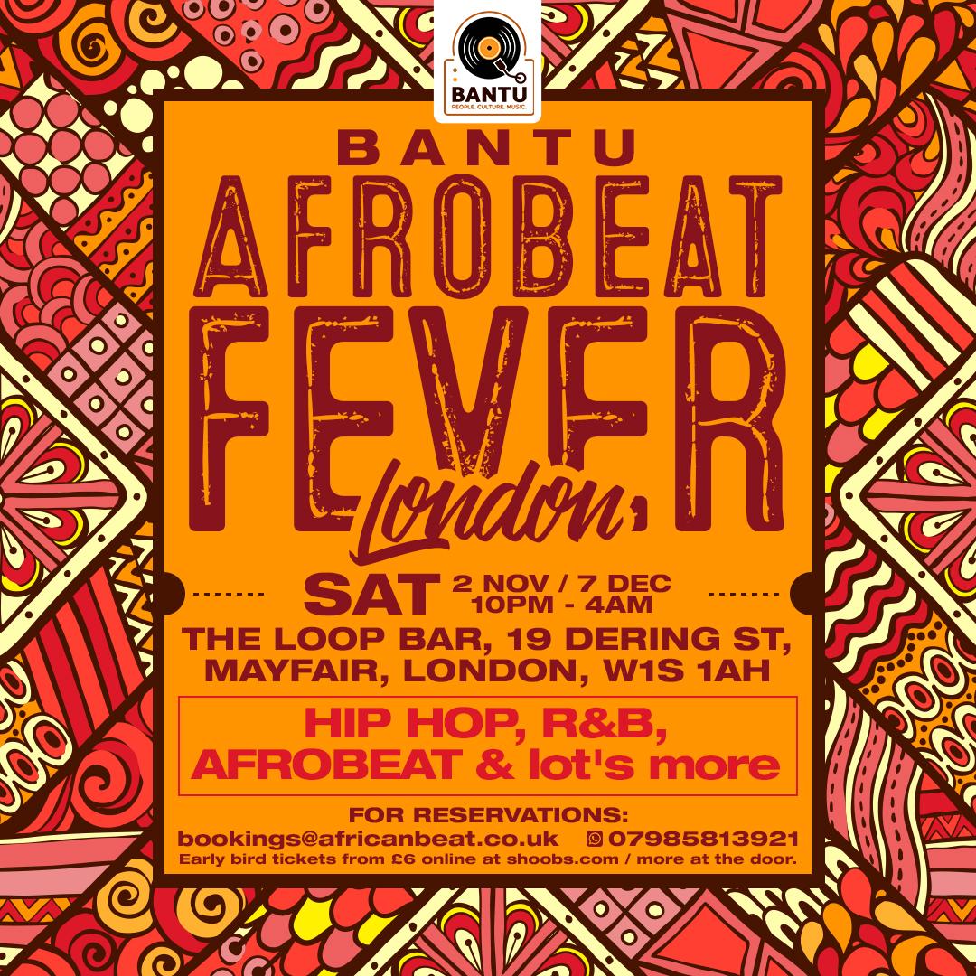 BANTU's Afrobeat Fever