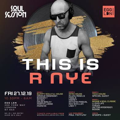 SOUL SESSION - THIS IS R NYE