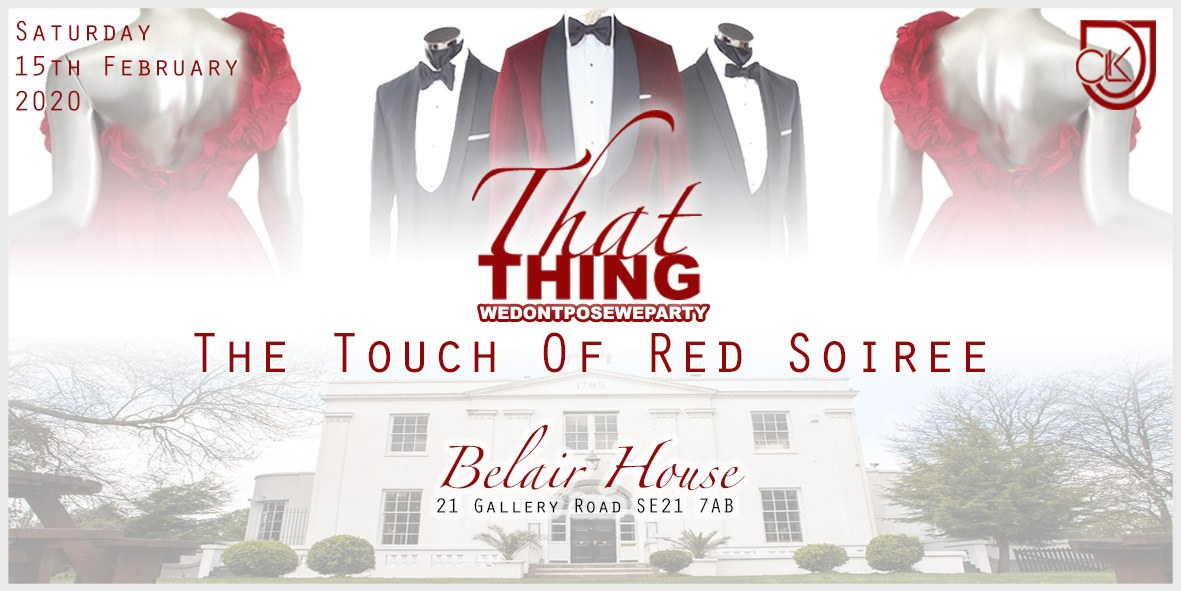 ThatThing The Touch Of Red Soiree 2020