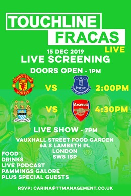 Touchline Fracas City v AFC Live Screening
