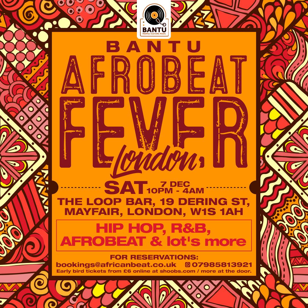 BANTU's Afrobeat Part II