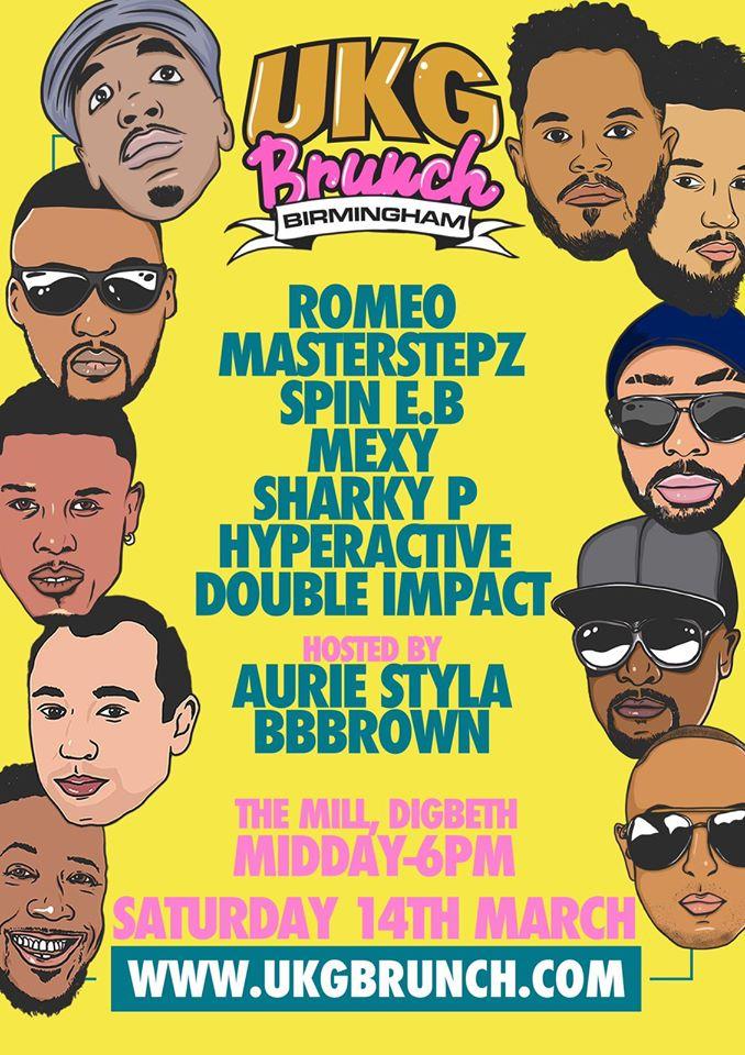 UKG Brunch Birmingham with Romeo