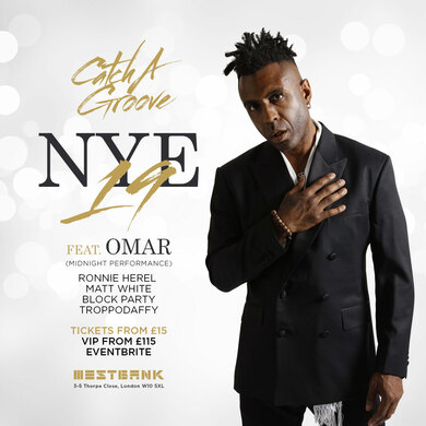 CATCH A GROOVE - NEW YEARS EVE FEAT. OMAR
