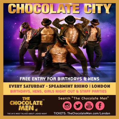 Chocolate City LDN Show w/ The Chocolate Men