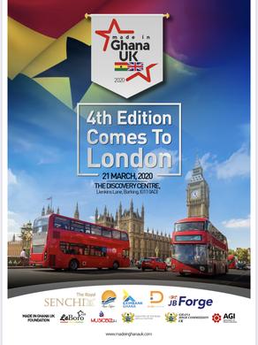 4TH MADE IN GHANA UK LONDON 2020