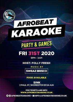 AFROBEAT KARAOKE PARTY & GAMES