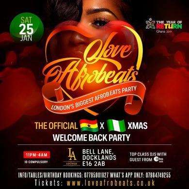 Love Afrobeats (Ladies Night Special)