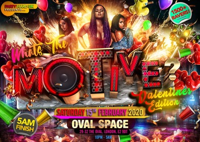 What's The Motive - Valentines Edition