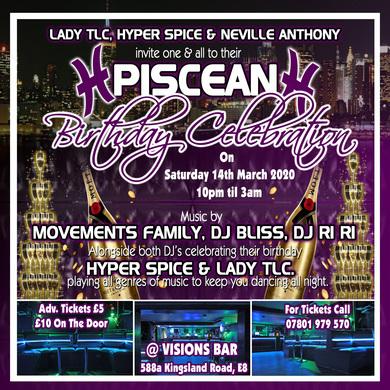 Piscean Birthday Celebration