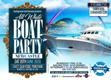 Annual All White Boat Party 2020