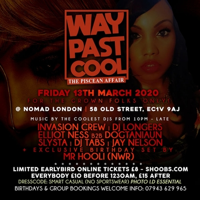 Way Past Cool - The Piscean Affair