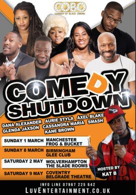 Comedy Shutdown Wolves - Spring Tour
